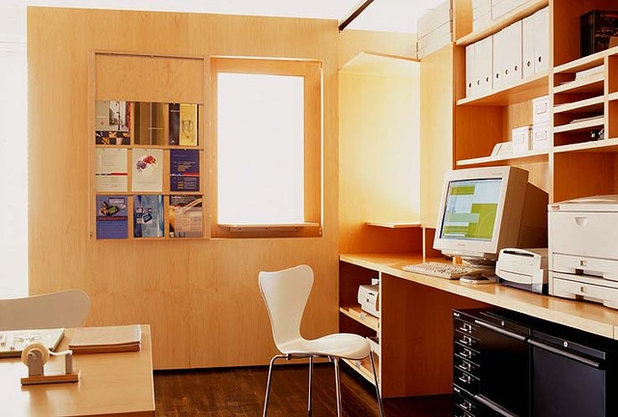 Modern Home Office by Roger Hirsch Architect