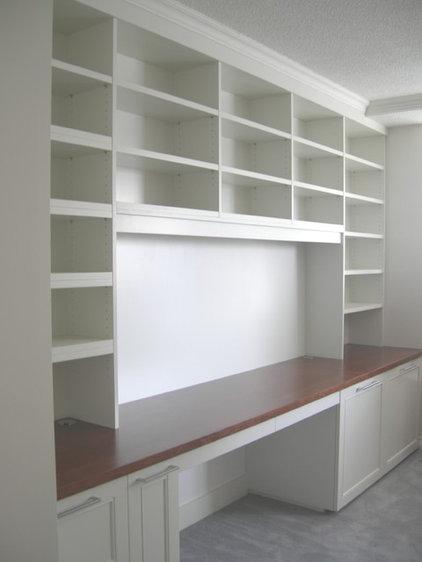Home Office by Kevin Karst Design Inc.