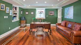 Cumuru, Maple, and Brazilian Cherry Wide Plank Floors in Edgmont Delaware Count