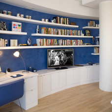 Contemporary Home Office by Eminent Interior Design