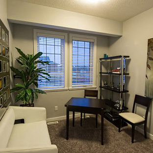 Example of a home office design in Other