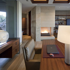 Contemporary Home Office by Swaback Partners, pllc