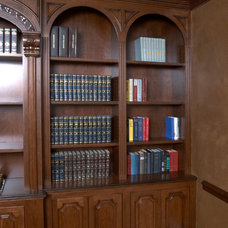 Traditional Home Office by A Cut Above, Inc.