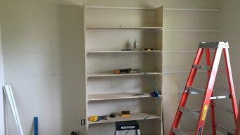 Custom Bookshelves