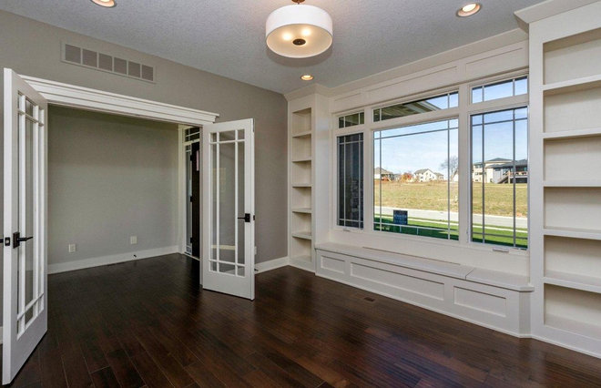 Traditional Home Office by Ironwood Homes