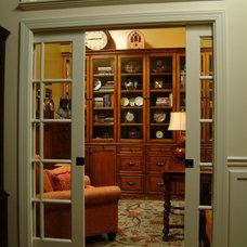 Traditional Home Office by InteriorDesignToGo.com
