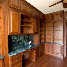 Traditional Home Office by Stone City - Kitchen & Bath Design Center
