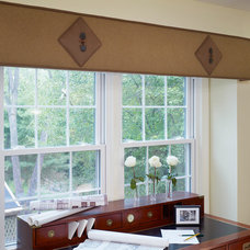 Traditional Home Office by DECORATING DEN INT. SHELLEY RODNER C.I.D.