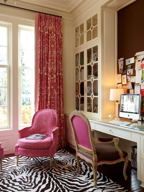 Best Girly Office Design Ideas  Remodel Pictures  Houzz