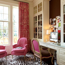 Traditional Home Office by Wright Building Company