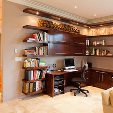 Contemporary Home Office by Habitat Studio