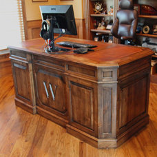 Traditional Home Office by Haak Designs LLC