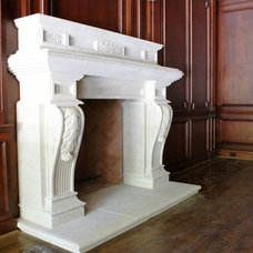 Traditional Home Office by American Masonry Supply, Inc.
