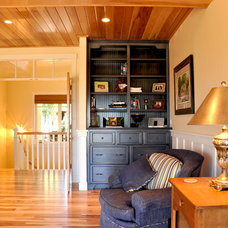 Traditional Home Office by Van's Lumber & Custom Builders, Inc.