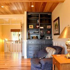 Traditional Home Office by Van's Lumber & Custom Builders, Inc.
