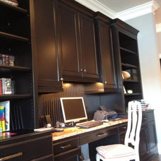 Traditional Home Office by Total Quality Home Builders, Inc.