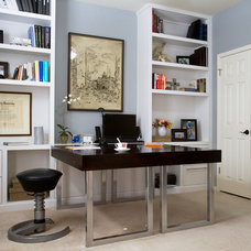 Contemporary Home Office by Darbyshire Designs
