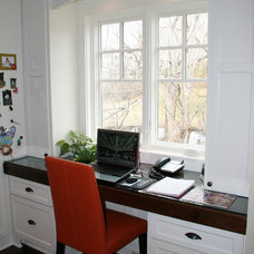 Traditional Home Office by Modern Design LLC