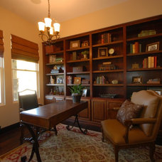 Traditional Home Office by Pacific Western Painting, Inc.