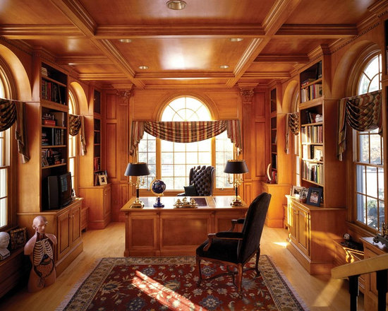 luxury home office | houzz