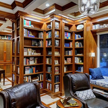 Custom Library & Home Remodel