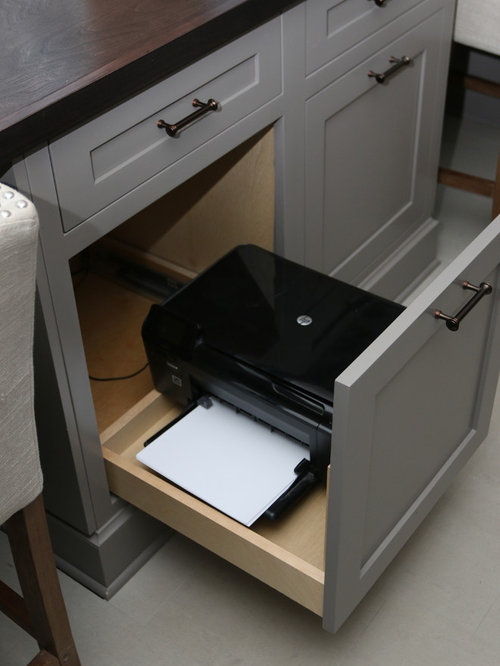 Printer Storage Ideas, Pictures, Remodel and Decor