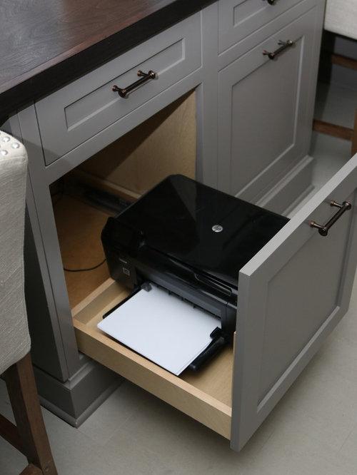 Printer Cabinet Houzz