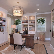 Traditional Home Office by Patterson Custom Homes