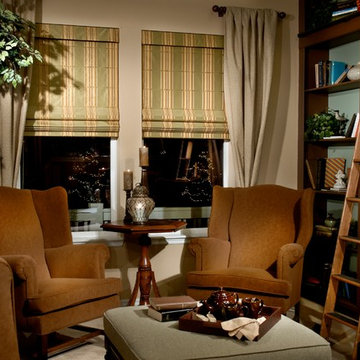 Custom Roman Shades / Roman Blinds