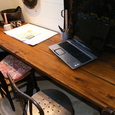 Traditional Home Office by Antique Building Materials, Inc.