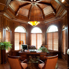 Traditional Home Office by Miami Woodworking Inc.