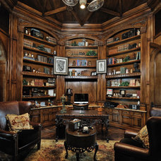 Traditional Home Office by Stillwater Builders