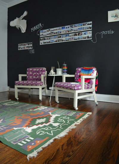 Eclectic Home Office by Sarah Greenman