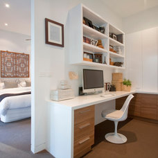 Contemporary Home Office by Vibe Design Group