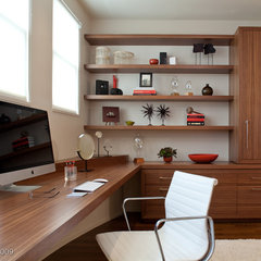 contemporary home office by De Meza + Architecture