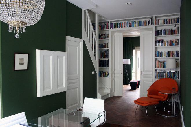 Modern Home Office by Damian Zarebski