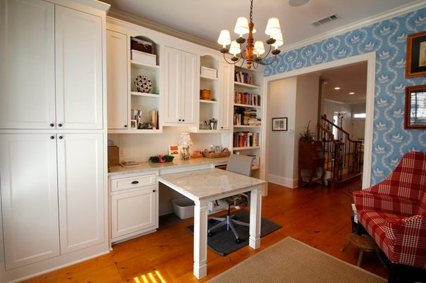 Traditional Home Office by McReynolds Designs