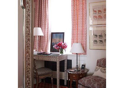 eclectic home office by Rooms and Words