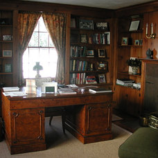 Traditional Home Office by Julianne Stirling