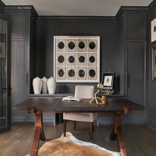 Dark and Dramatic Ukrainian Village Townhouse
