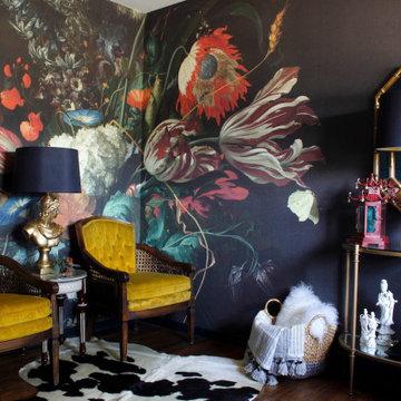 Dark & Moody designer's office