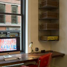 Industrial Home Office by David Howell Design