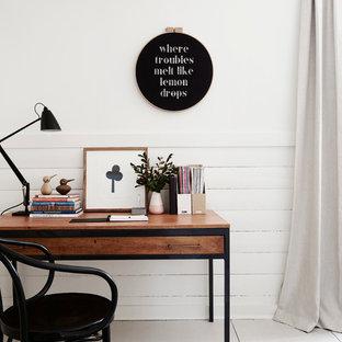 Home office - scandinavian home office idea in Melbourne