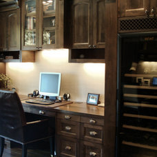 Mediterranean Home Office by Pankow Construction - Design/Remodeling - PHX, AZ