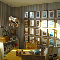 Eclectic Home Office Deb Raney