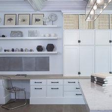 Contemporary Home Office by Rariden Schumacher Mio & Co.