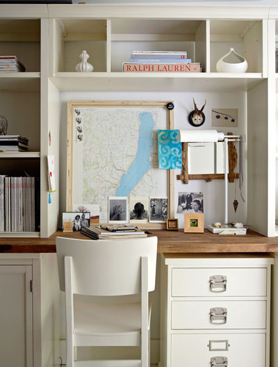 Eclectic Home Office by Chronicle Books