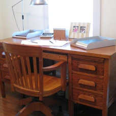 Eclectic Home Office DecorMadeSimple