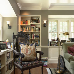 traditional home office by Bruce Kading Interior Design