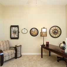 Contemporary Home Office by MON BRIO Staging & Interiors